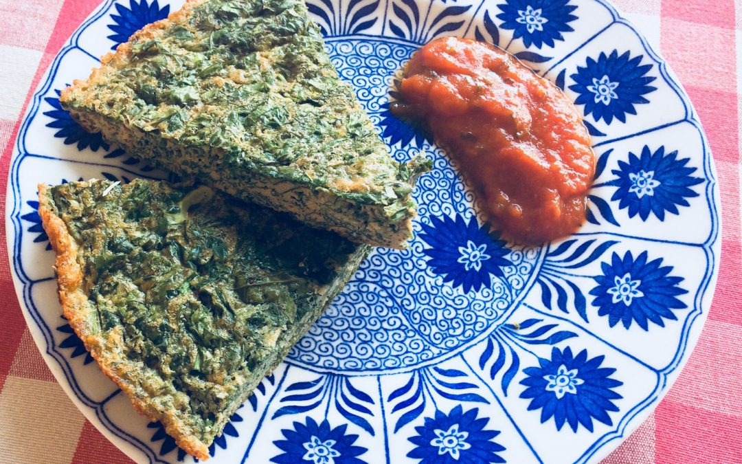 THE HERBIEST HERB OMELETTE